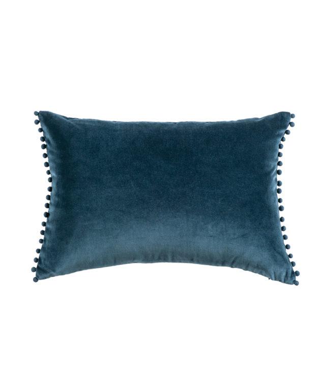 Bianca Lorenne mateo prussian blue cushion clear cut 633x755