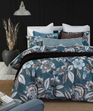 MM Linen Lark Duvet set Teal2 316x377