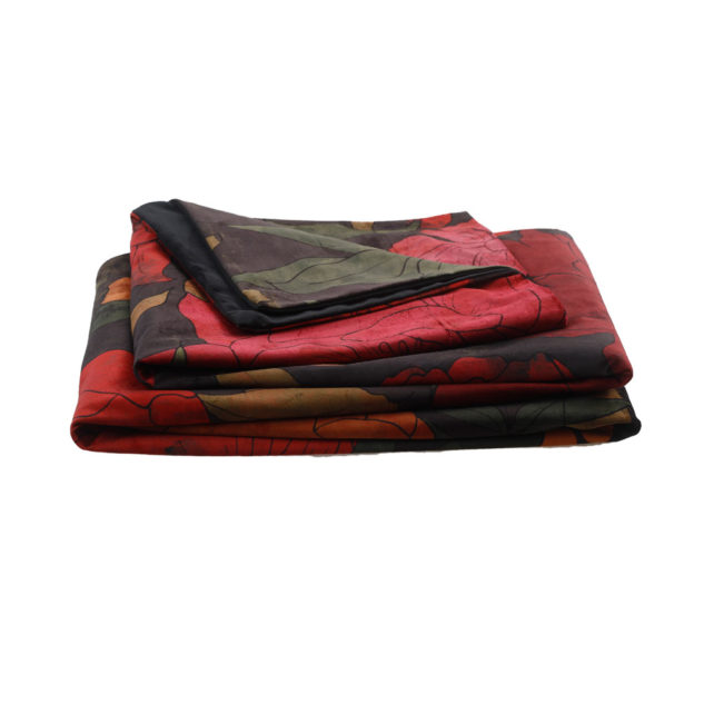 MM Linen Sumi Velvet Throw