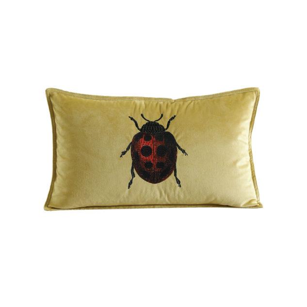 MM Linen Ladybird Cushion Clearcut 633x633