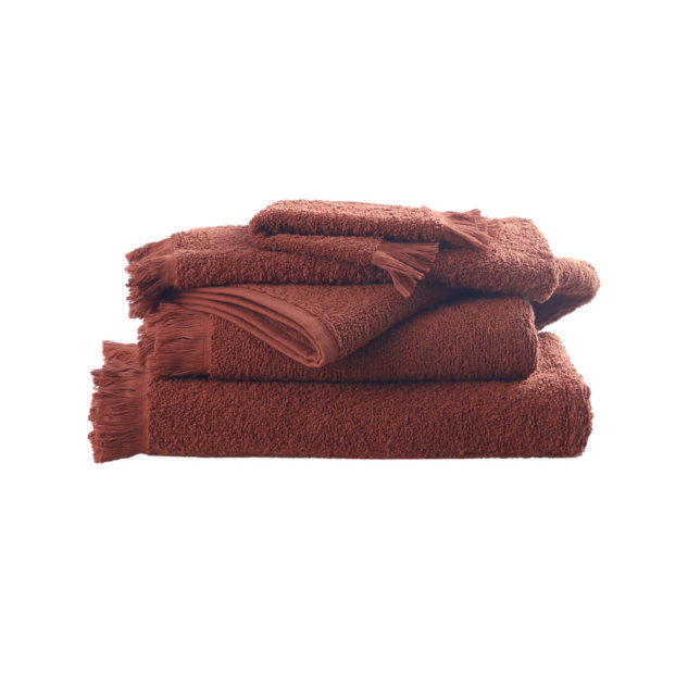 MM Linen Tusca Towel Clay