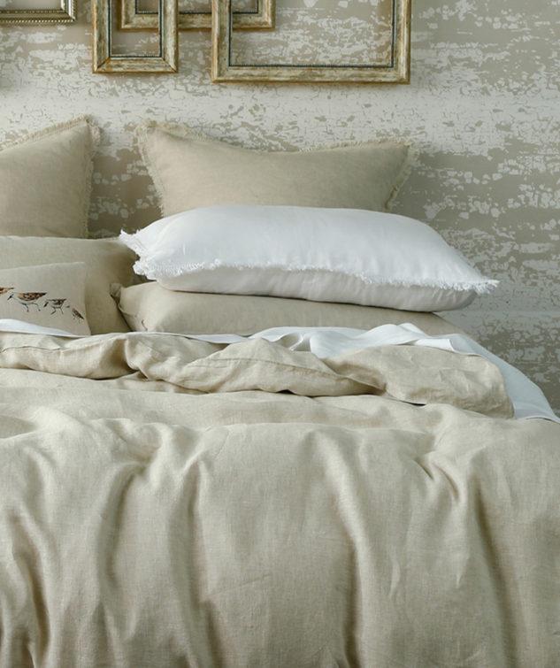 Laundered Linen Duvet Set Natural 1 633x755