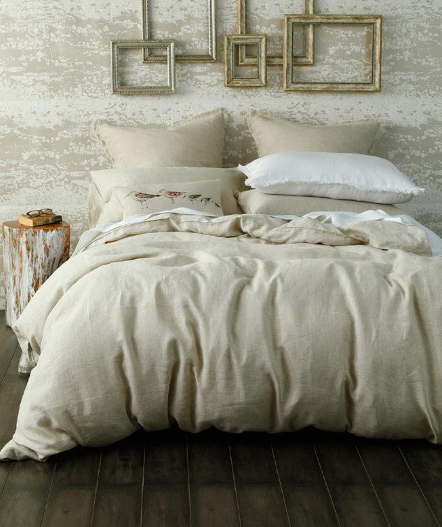Laundered Linen Duvet Set Natural2 633x755