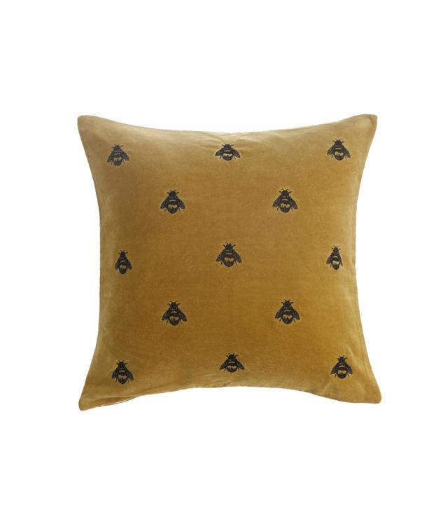MM Linen Buzz Mustard emb cushion 50x50 3 633x755