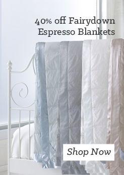 Fairydown Espresso Duck down & feather blankets